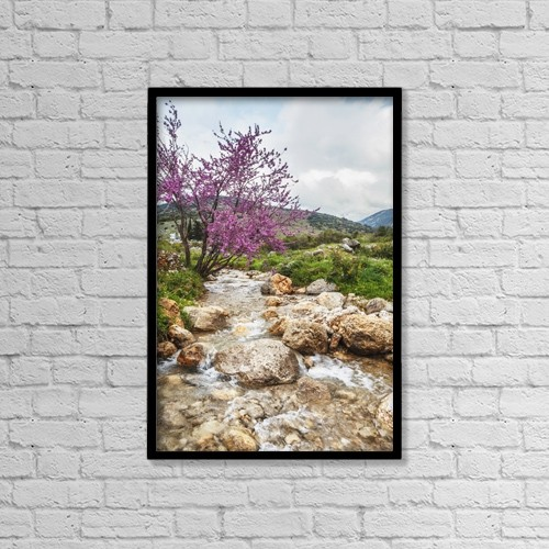 """Printscapes Wall Art: 12"""" x 18"""" Canvas Print With Black Frame - Scenic by Reynold Mainse"""
