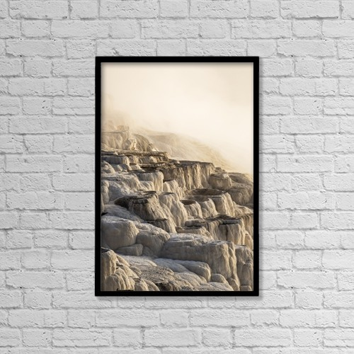 """Printscapes Wall Art: 12"""" x 18"""" Canvas Print With Black Frame - Nature by Carl Johnson"""