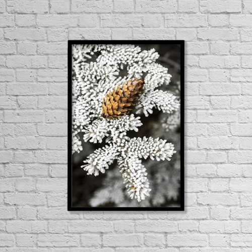 "Printscapes Wall Art: 12"" x 18"" Canvas Print With Black Frame - Nature by Michael Interisano"
