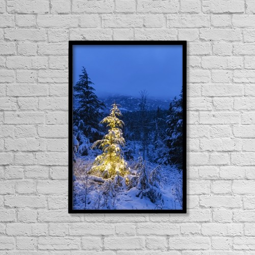 "Printscapes Wall Art: 12"" x 18"" Canvas Print With Black Frame - Special Occasions by Kevin G. Smith"