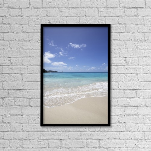 "Printscapes Wall Art: 12"" x 18"" Canvas Print With Black Frame - Scenic by Chris Caldicott"