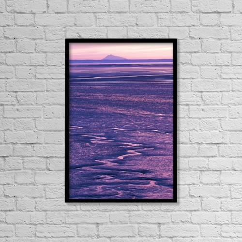 "Printscapes Wall Art: 12"" x 18"" Canvas Print With Black Frame - Scenic by Doug Lindstrand"