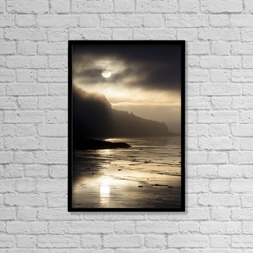 "Printscapes Wall Art: 12"" x 18"" Canvas Print With Black Frame - Nature by Doug Lindstrand"