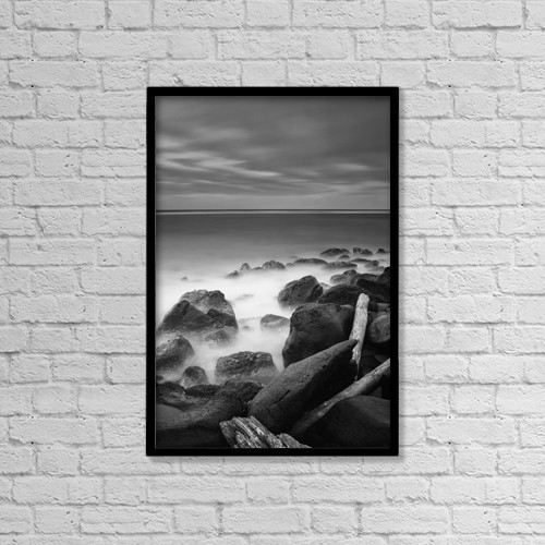 "Printscapes Wall Art: 12"" x 18"" Canvas Print With Black Frame - Scenic by Ian Ludwig"
