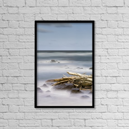 """Printscapes Wall Art: 12"""" x 18"""" Canvas Print With Black Frame - Scenic by Ian Ludwig"""