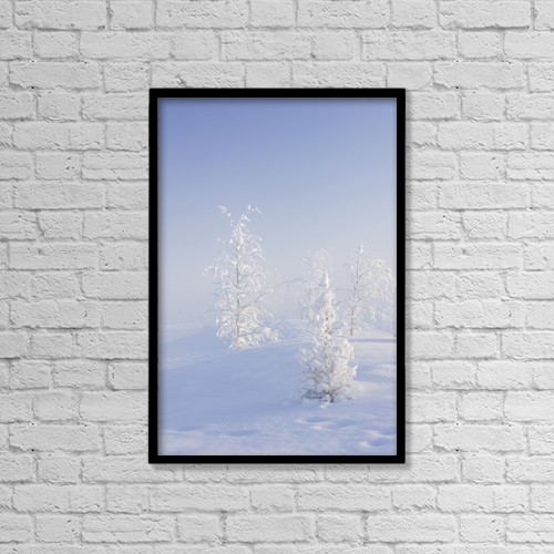 "Printscapes Wall Art: 12"" x 18"" Canvas Print With Black Frame - Weather by Kevin G. Smith"
