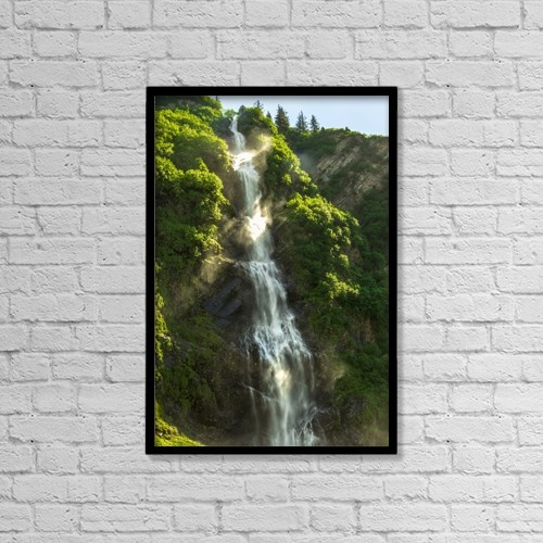 """Printscapes Wall Art: 12"""" x 18"""" Canvas Print With Black Frame - Scenic by Zachary Sheldon"""