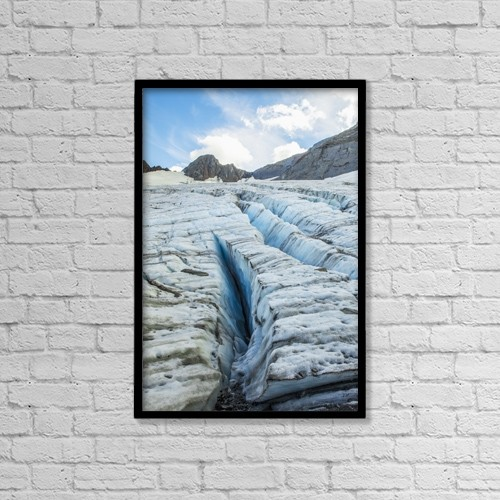 "Printscapes Wall Art: 12"" x 18"" Canvas Print With Black Frame - Nature by Zachary Sheldon"