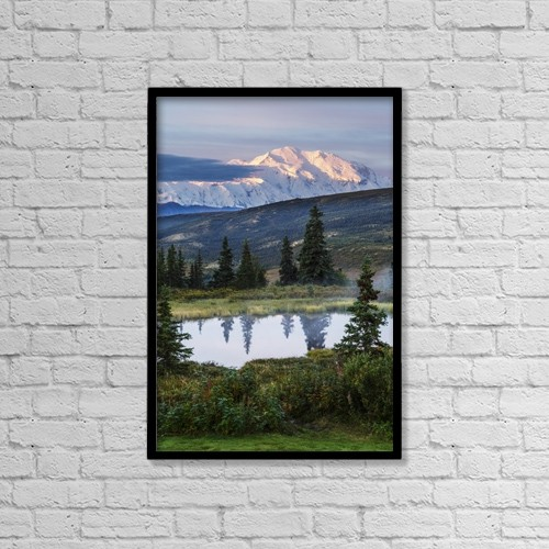 """Printscapes Wall Art: 12"""" x 18"""" Canvas Print With Black Frame - Scenic by Jeff Schultz"""