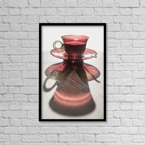 """Printscapes Wall Art: 12"""" x 18"""" Canvas Print With Black Frame - Food by Mats Silvan"""