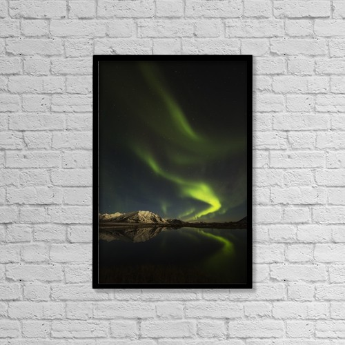 "Printscapes Wall Art: 12"" x 18"" Canvas Print With Black Frame - Astronomy by Robert Postma"