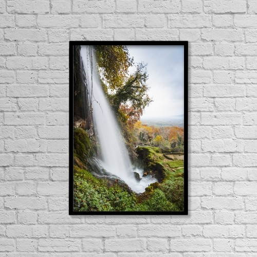 "Printscapes Wall Art: 12"" x 18"" Canvas Print With Black Frame - Scenic by Reynold Mainse"