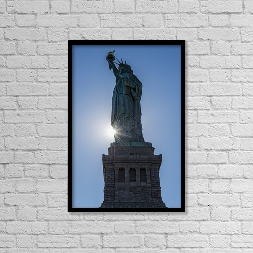 """Printscapes Wall Art: 12"""" x 18"""" Canvas Print With Black Frame - Artwork and Paintings by F. M. Kearney"""