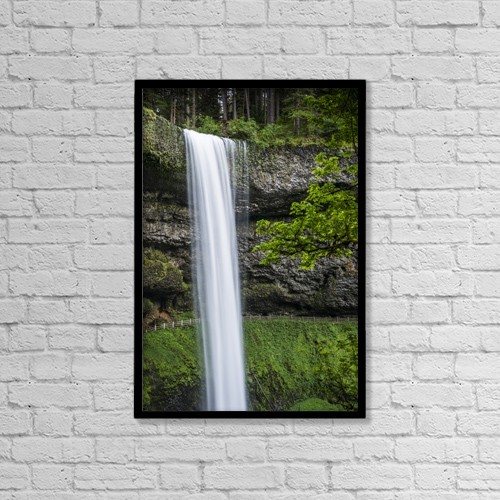 "Printscapes Wall Art: 12"" x 18"" Canvas Print With Black Frame - Scenic by Robert L. Potts"