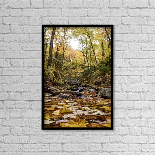 "Printscapes Wall Art: 12"" x 18"" Canvas Print With Black Frame - Scenic by Spencer Robertson"