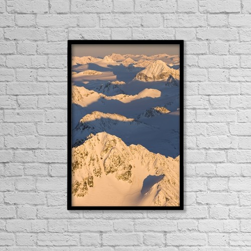 """Printscapes Wall Art: 12"""" x 18"""" Canvas Print With Black Frame - Scenic by Scott Dickerson"""