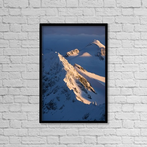 "Printscapes Wall Art: 12"" x 18"" Canvas Print With Black Frame - Scenic by Scott Dickerson"