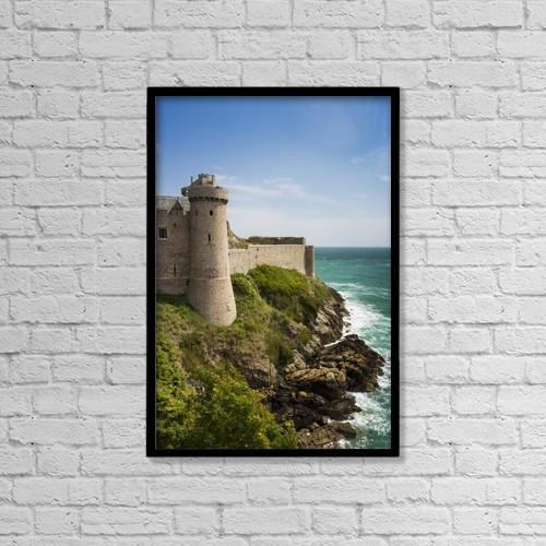 "Printscapes Wall Art: 12"" x 18"" Canvas Print With Black Frame - Architectural Exteriors by Michael Interisano"