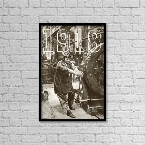 """Printscapes Wall Art: 12"""" x 18"""" Canvas Print With Black Frame - Creative Imagery by Hilary Jane Morgan"""