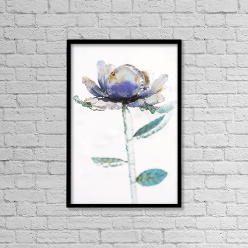 """Printscapes Wall Art: 12"""" x 18"""" Canvas Print With Black Frame - Flowers by Colleen Cahill"""