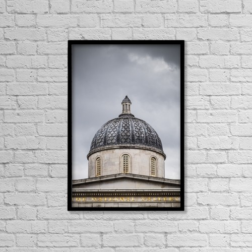 "Printscapes Wall Art: 12"" x 18"" Canvas Print With Black Frame - Christian Faith by Leah Bignell"