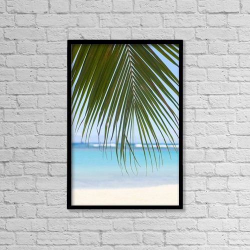 "Printscapes Wall Art: 12"" x 18"" Canvas Print With Black Frame - Scenic by Brandon Tabiolo"