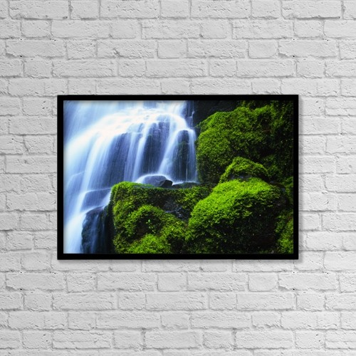 "Printscapes Wall Art: 18"" x 12"" Canvas Print With Black Frame - Nature by Natural Selection Craig Tuttle"