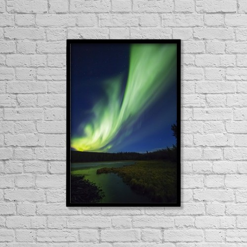 "Printscapes Wall Art: 12"" x 18"" Canvas Print With Black Frame - Astronomy by Steven Miley"