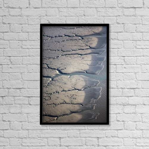 "Printscapes Wall Art: 12"" x 18"" Canvas Print With Black Frame - Nature by Kevin G. Smith"