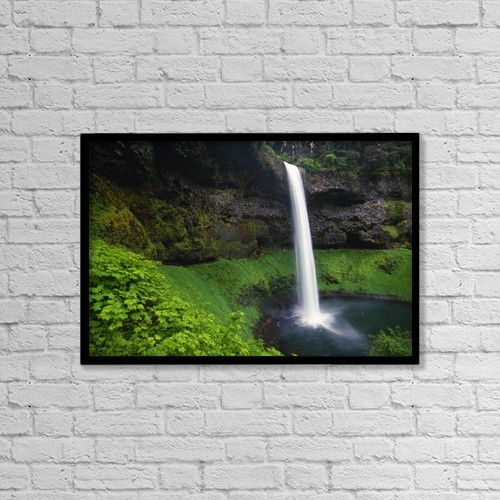 "Printscapes Wall Art: 18"" x 12"" Canvas Print With Black Frame - Scenic by Natural Selection Craig Tuttle"