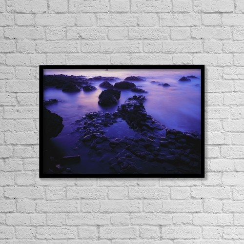 """Printscapes Wall Art: 18"""" x 12"""" Canvas Print With Black Frame - Nature by The Irish Image Collection"""