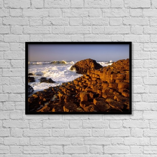 "Printscapes Wall Art: 18"" x 12"" Canvas Print With Black Frame - by The Irish Image Collection"