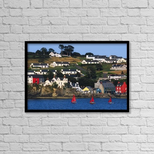 "Printscapes Wall Art: 18"" x 12"" Canvas Print With Black Frame - Other by The Irish Image Collection"