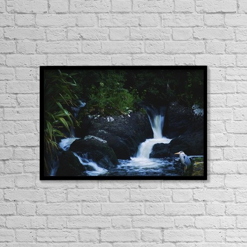 "Printscapes Wall Art: 18"" x 12"" Canvas Print With Black Frame - Co Cork, Ireland by The Irish Image Collection"