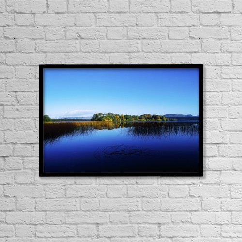 "Printscapes Wall Art: 18"" x 12"" Canvas Print With Black Frame - nature by The Irish Image Collection"