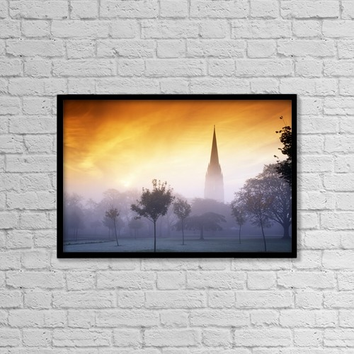 "Printscapes Wall Art: 18"" x 12"" Canvas Print With Black Frame - St by The Irish Image Collection"