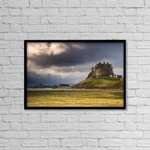 "Printscapes Wall Art: 18"" x 12"" Canvas Print With Black Frame - Historic & Vintage by John Short"
