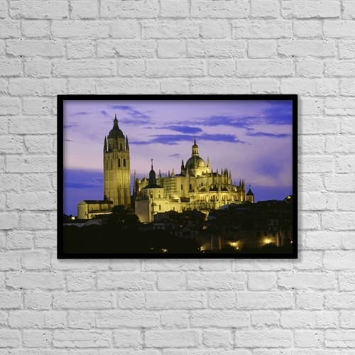 """Printscapes Wall Art: 18"""" x 12"""" Canvas Print With Black Frame - pending by Bilderbuch"""