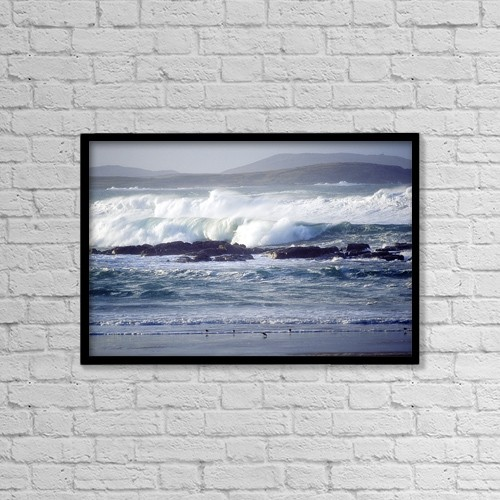 """Printscapes Wall Art: 18"""" x 12"""" Canvas Print With Black Frame - Nature by Gareth McCormack"""