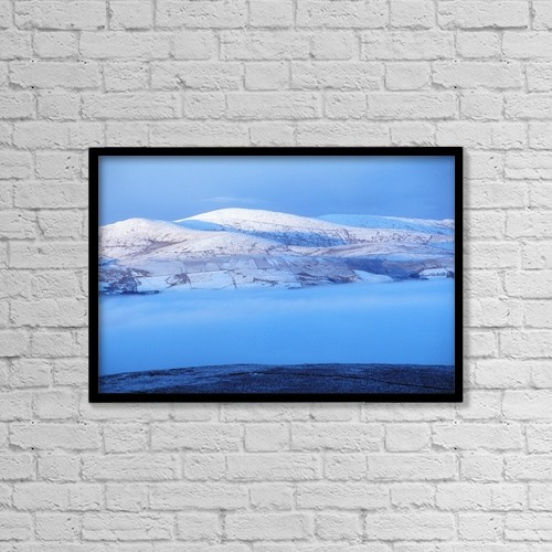 "Printscapes Wall Art: 18"" x 12"" Canvas Print With Black Frame - Mullaghclogha, County Tyrone, Ireland by Gareth McCormack"