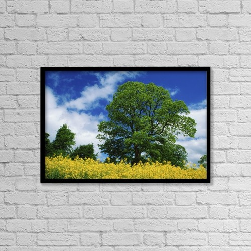 "Printscapes Wall Art: 18"" x 12"" Canvas Print With Black Frame - Clonmel, County Tipperary, Ireland by Richard Cummins"