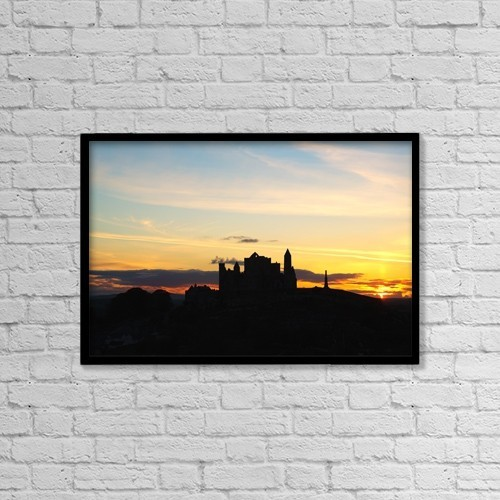 """Printscapes Wall Art: 18"""" x 12"""" Canvas Print With Black Frame - County Tipperary, Ireland by Peter Zoeller"""