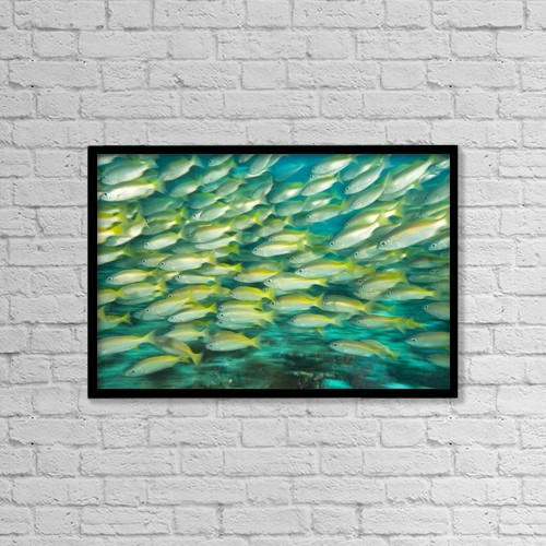 """Printscapes Wall Art: 18"""" x 12"""" Canvas Print With Black Frame - by Stuart Westmorland"""