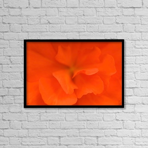 "Printscapes Wall Art: 18"" x 12"" Canvas Print With Black Frame - Waterloo, Quebec, Canada by David Chapman"