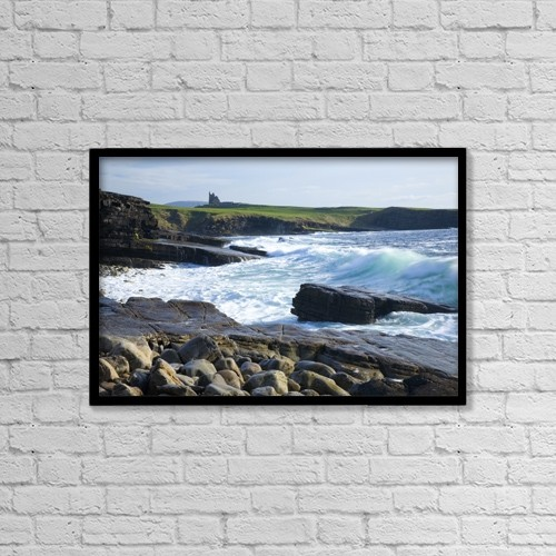 """Printscapes Wall Art: 18"""" x 12"""" Canvas Print With Black Frame - Scenic by Gareth McCormack"""