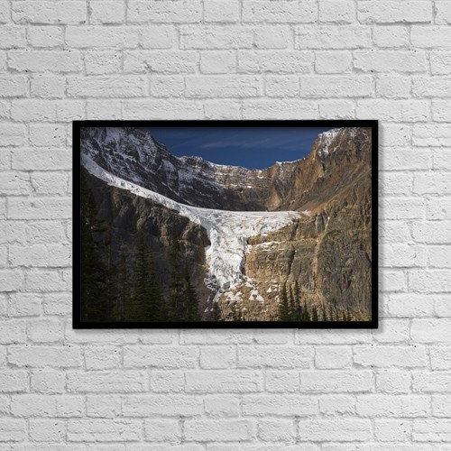 """Printscapes Wall Art: 18"""" x 12"""" Canvas Print With Black Frame - Travel by Philippe Widling"""