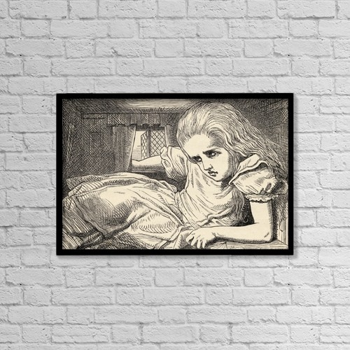 """Printscapes Wall Art: 18"""" x 12"""" Canvas Print With Black Frame - Lifestyle by Ken Welsh"""