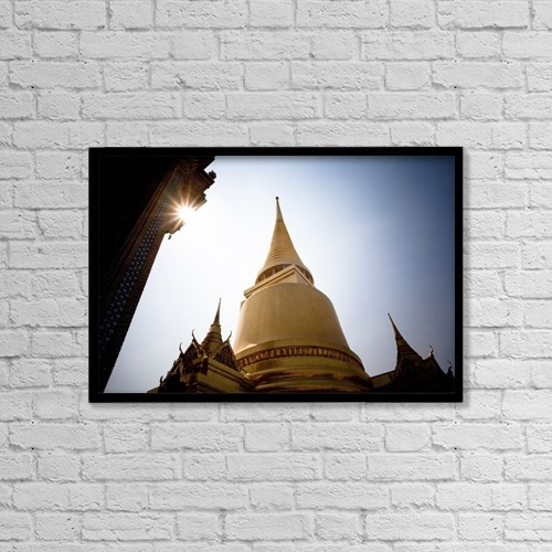 "Printscapes Wall Art: 18"" x 12"" Canvas Print With Black Frame - Travel by David DuChemin"