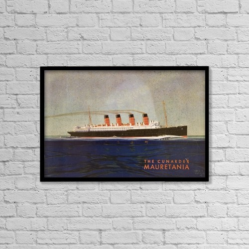 """Printscapes Wall Art: 18"""" x 12"""" Canvas Print With Black Frame - Travel by Ken Welsh"""