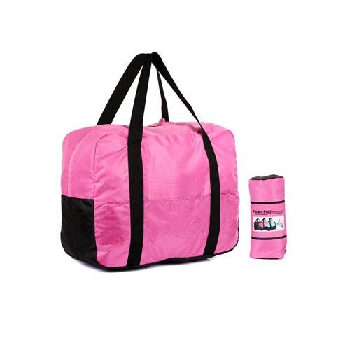 4c11e88c5de Pack n Fold Foldable Lightweight Water-resistant Duffel Bag Pink   Duffle  Bags - Best Buy Canada